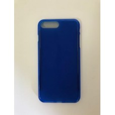 Back Cover jelly matt blue  iphone 7 plus - 8 plus