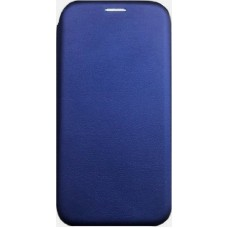 Samsung Galaxy j7 2017 - Slim Magnetic Book Leather Stand Case- Blue oem