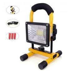 Φορητός επαναφορτιζόμενος προβολέας LED 30W