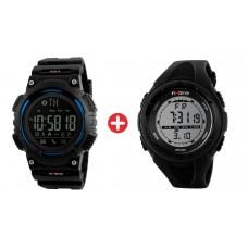 Bundle BNDL-0037 INTIME smartwatch SW-V02 & ρολόι χειρός Chrono-04
