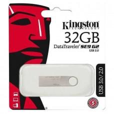 USB FLASH KINGSTON DTSE9G2 32GB ALUMINIUM DTSE9G2/32GB