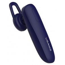 USAMS bluetooth earphone US-LK001, LK series, BT 4.1, μπλε
